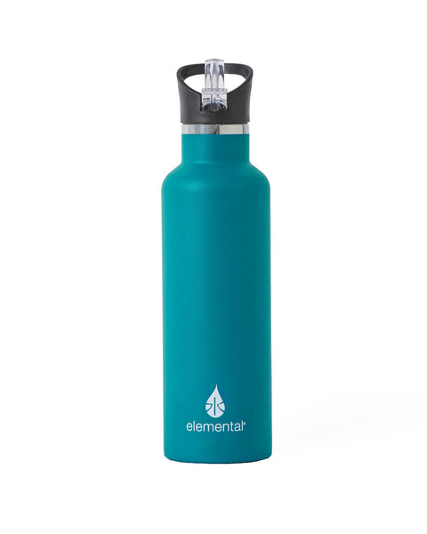 Elemental Stainless Steel Sport Water Bottle - 25oz Matte Teal