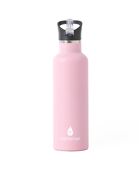 Elemental Stainless Steel Sport Water Bottle - 25oz Blush Pink - Elemental Gifts