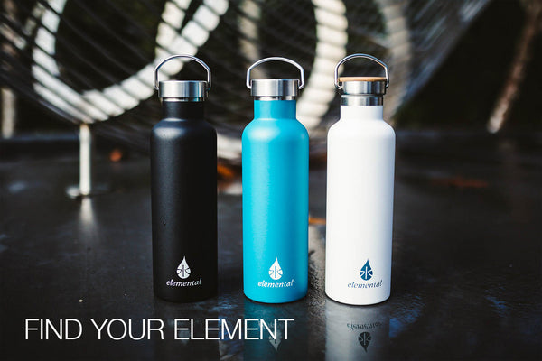 Sample Kit Blank - Elemental Bottles Including Sport Cap Package - Elemental Gifts