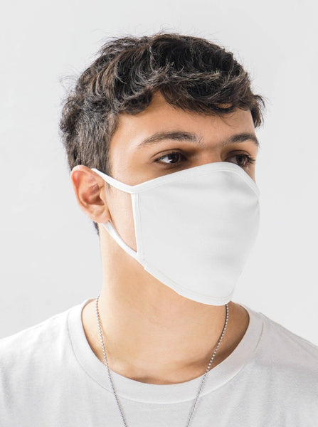 Wholesale Non-Medical 3-layer Fitted Cotton Mask - ECMASK01