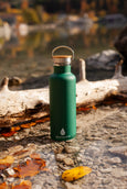 Elemental Stainless Steel Classic Water Bottle - 25oz Forest Green - Elemental Gifts