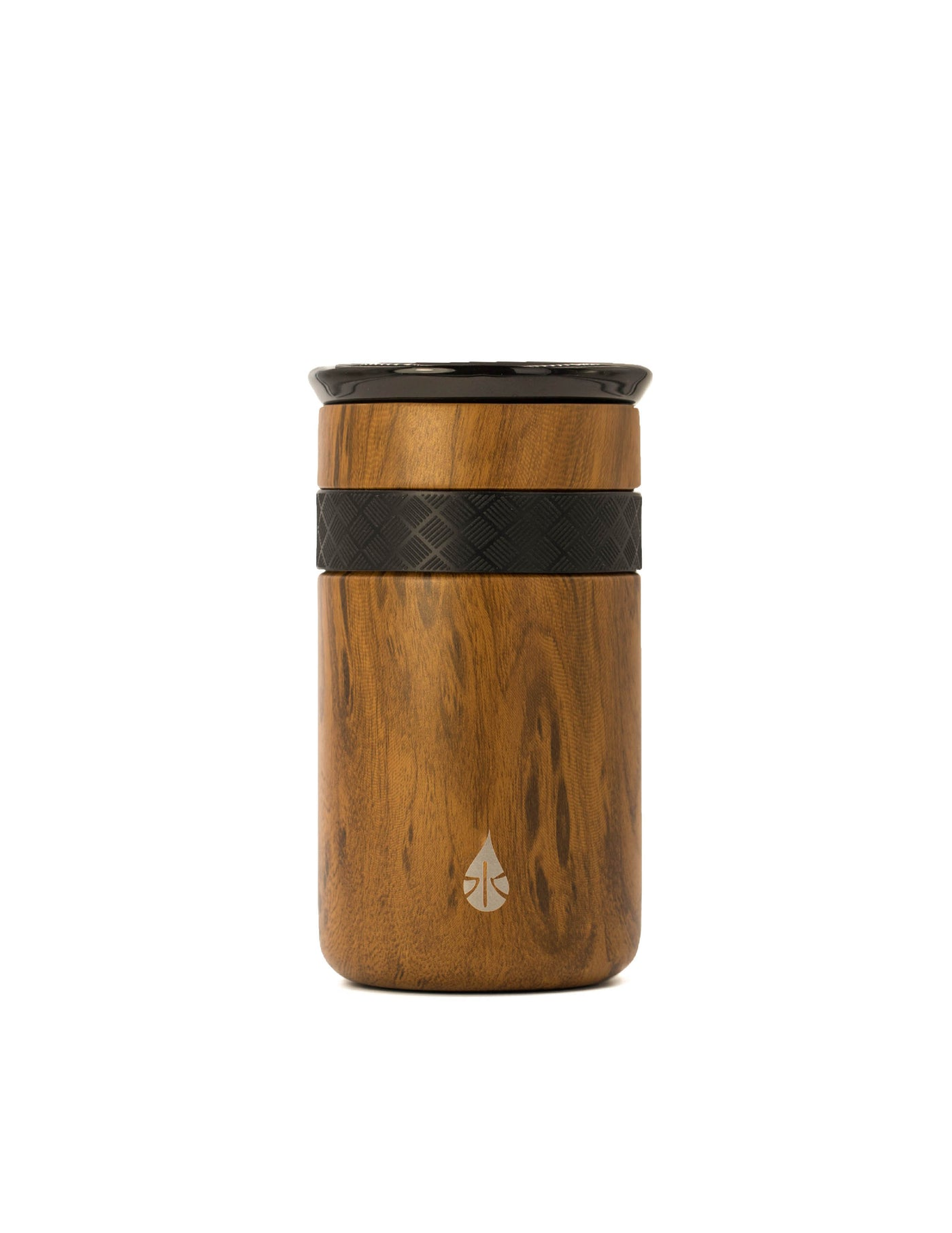 Elemental 12 oz Tumbler - Teak Wood - Elemental Gifts