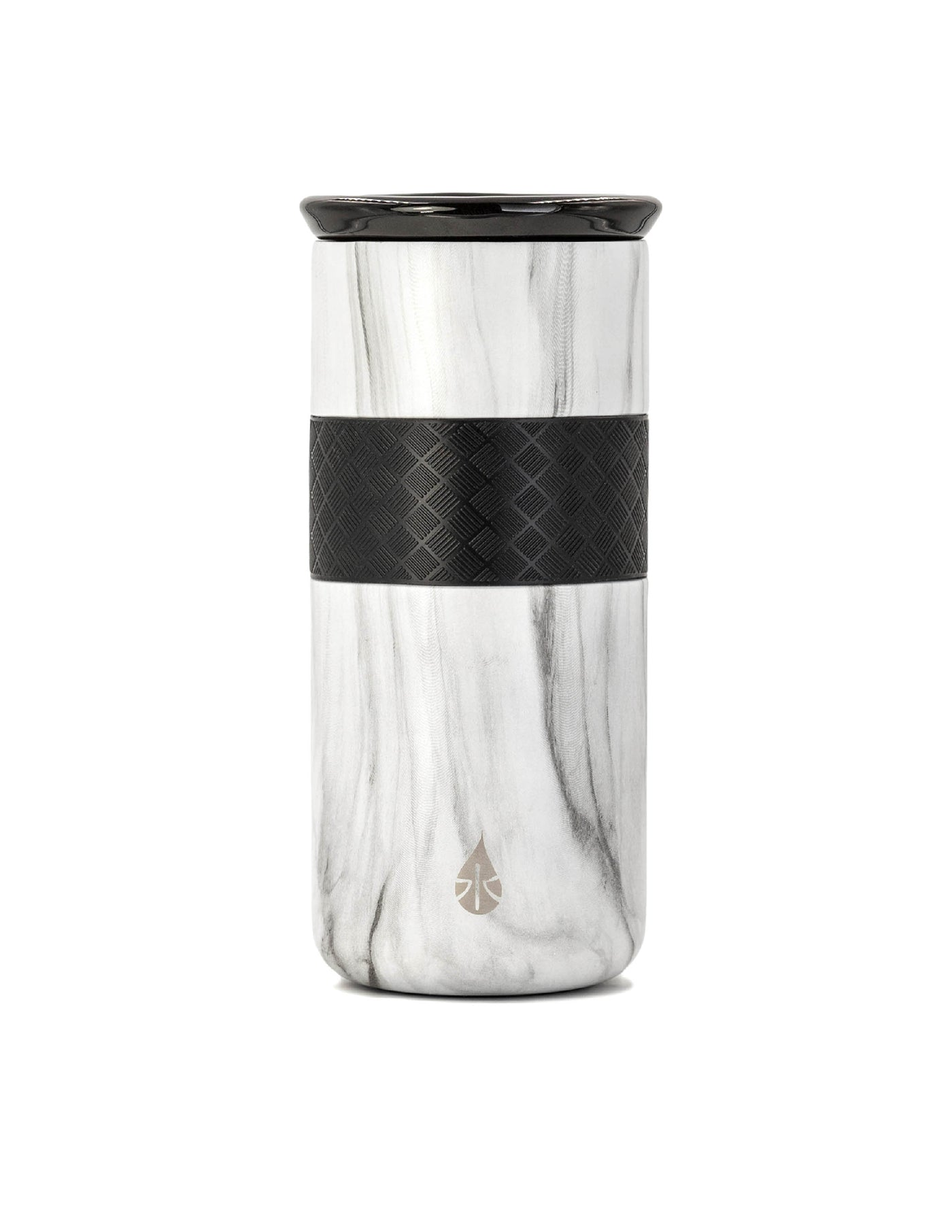 Elemental 16 oz Tumbler - White Marble - Elemental Gifts