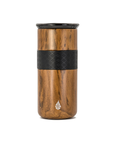Elemental 16 oz Tumbler - Teak Wood - Elemental Gifts