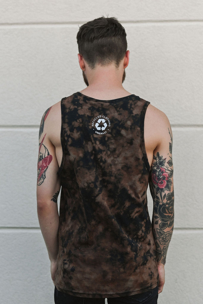 Bleached Out Men's Tank