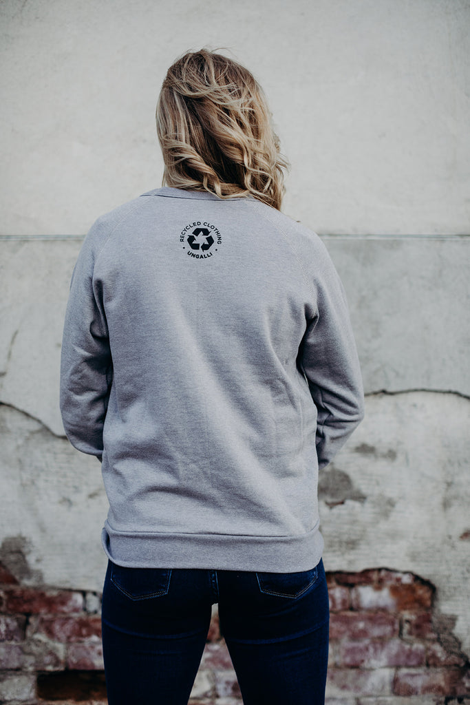 Patch Crew Neck Pullover