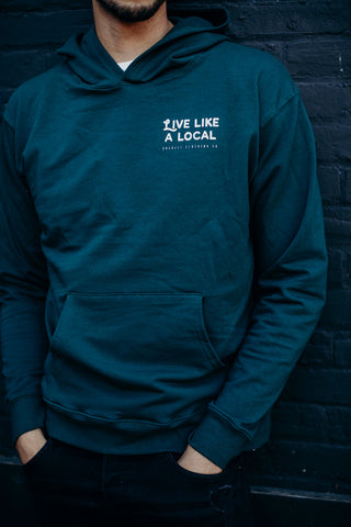 Unisex Live Like a Local Hoodie
