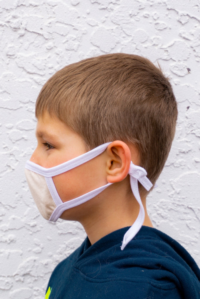 Kids Cloth Face Mask (3 masks/pack and up)