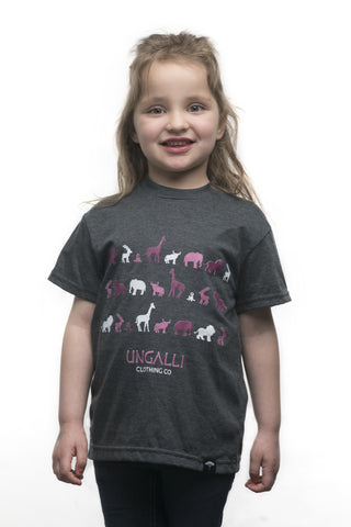 Pink Jungle Kid's Tee