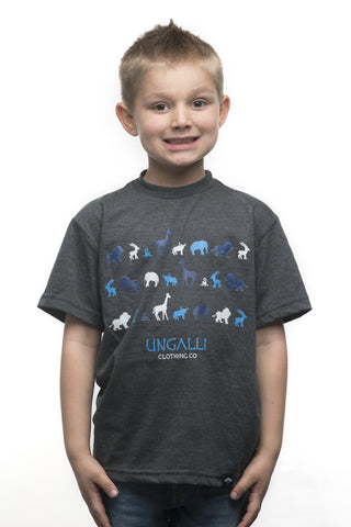 Blue Jungle Kid's Tee