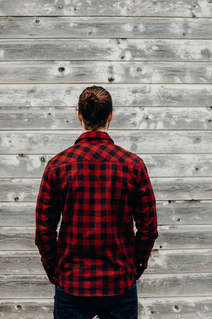 Red Plaid Ungalli Flannel