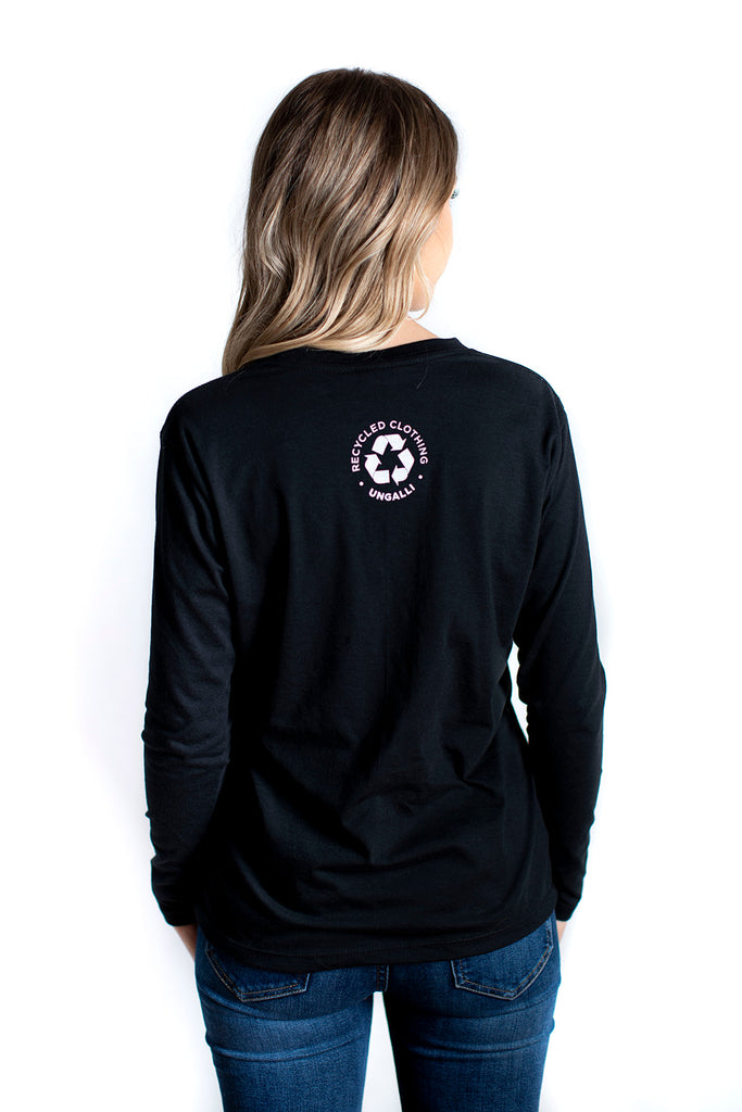 Make People Care Women's Long Sleeve