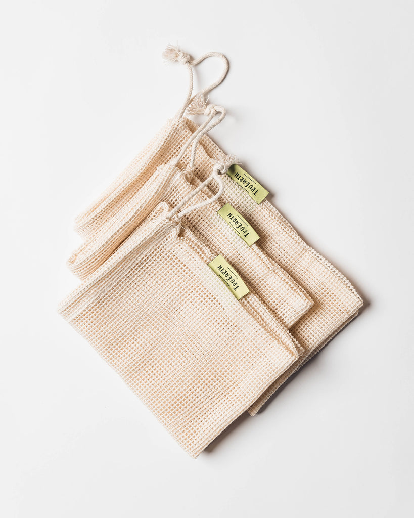 Mesh Produce Bags (set of 6)