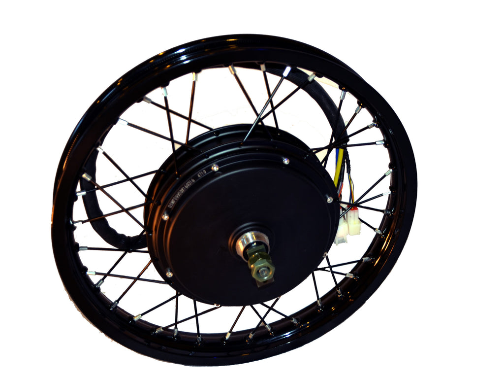 "E.R.T. QS V3 10KW laced in 19""x1.6 3.5T Electric Rear Hub Motor"
