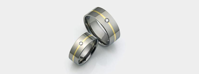 Titanium vs tungsten wedding bands for men