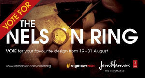 we launched the Nelson Ring design competition, to give Nelsonians a chance to design and win the first ever Nelson Ring.