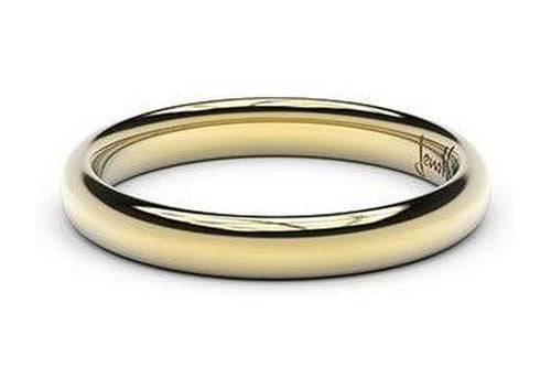 Petite Replica Ring - 3mm wide, 18ct Yellow Gold