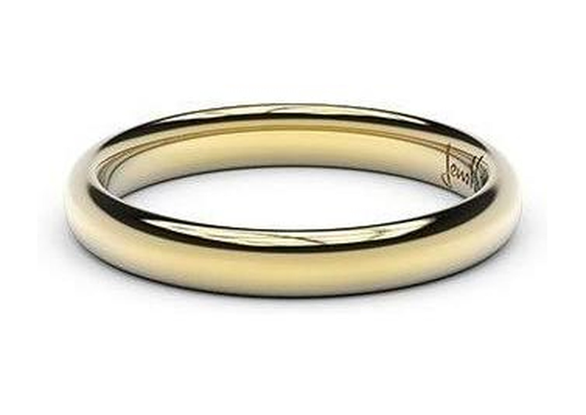 Petite Replica Ring - 3mm wide, 22ct Yellow Gold