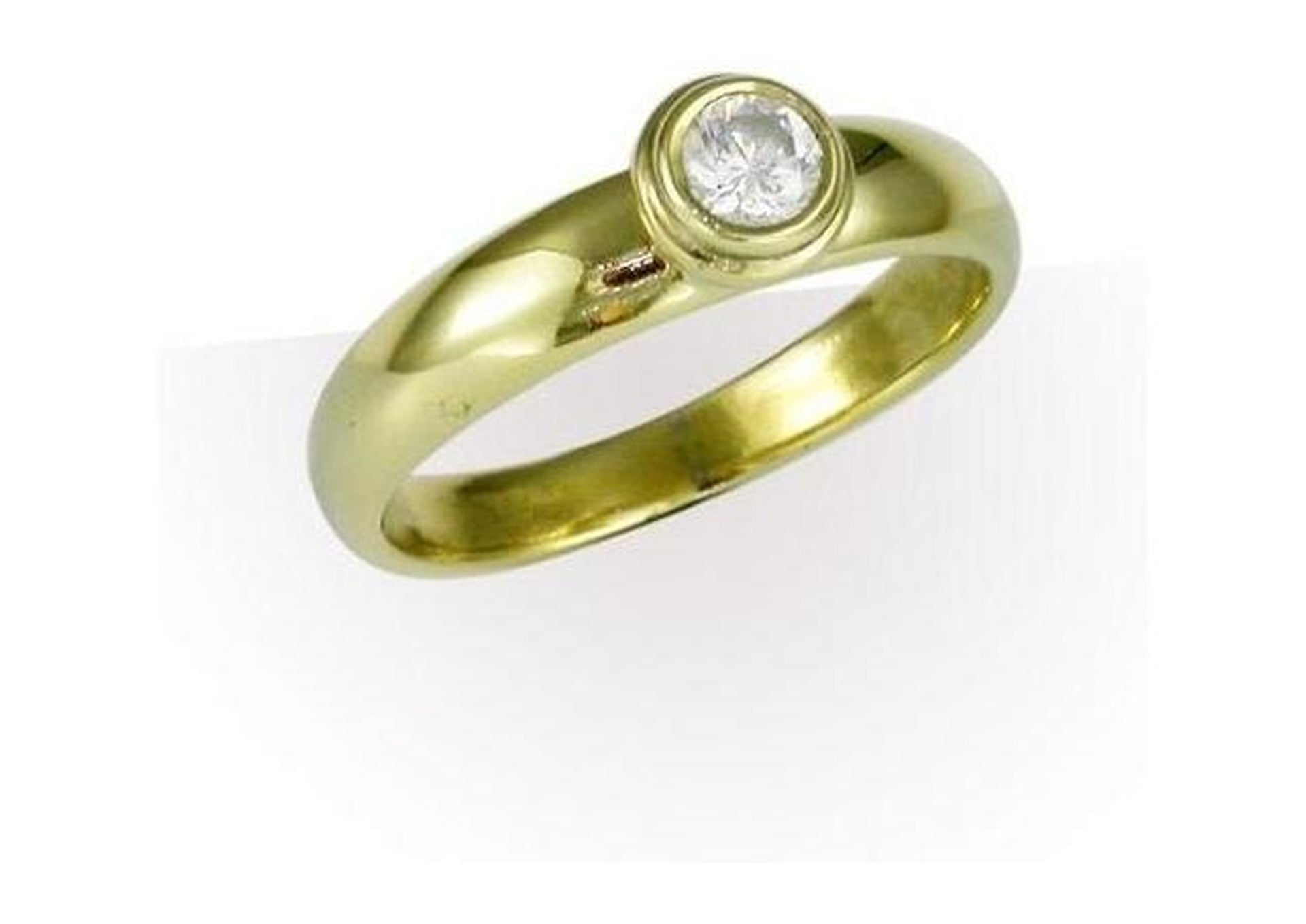 18ct Gold Design with 1/4 carat Diamond   - Jens Hansen