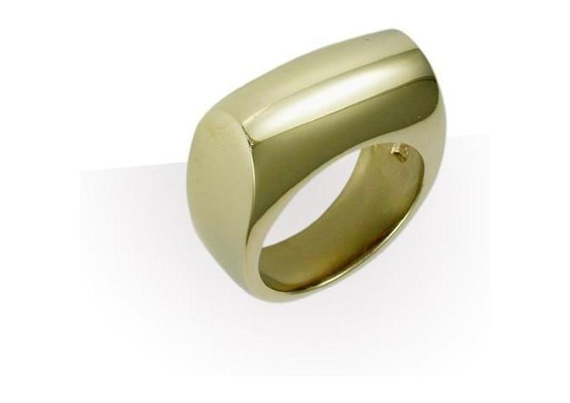 9ct Gold Dome Ring   - Jens Hansen
