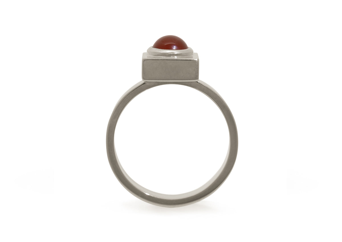 2020 Legacy Torv Ring, White Gold & Platinum