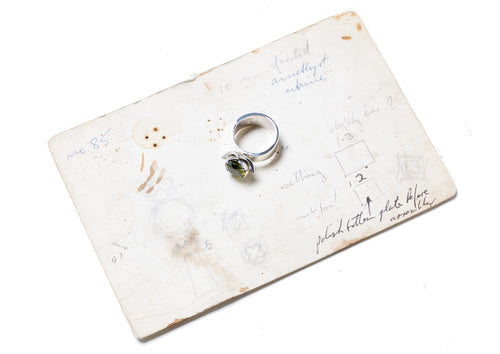 2008 Foundation Release Flower Ring, Sterling Silver