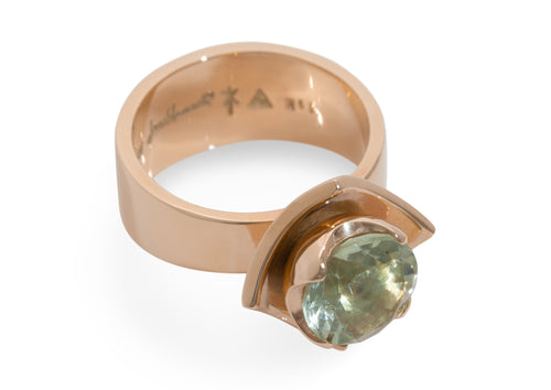 2008 Foundation Release Flower Ring, Red Gold