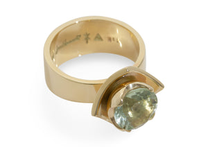 2008 Foundation Release Flower Ring, Yellow Gold