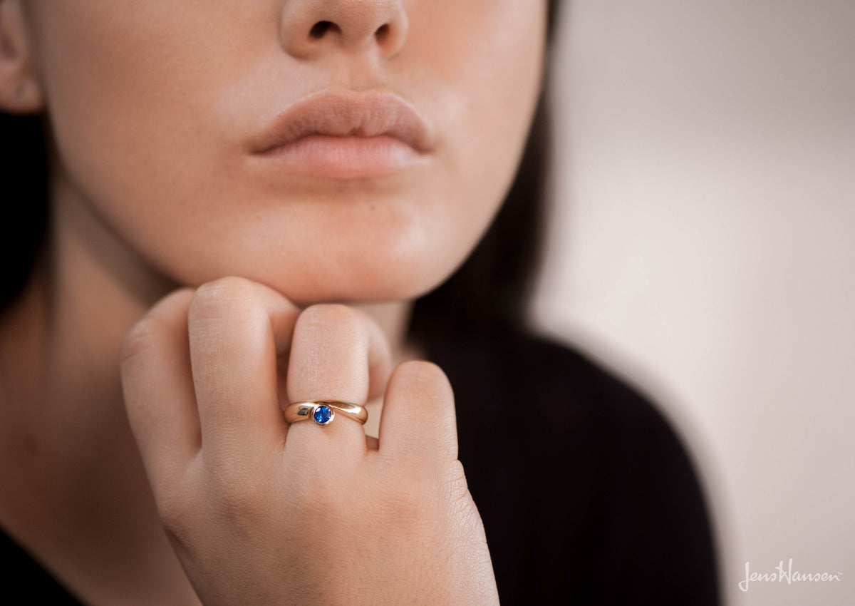 Gemstone Ring, Yellow Gold