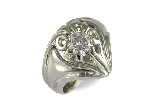 Our Ring for Cate, White Gold & Platinum