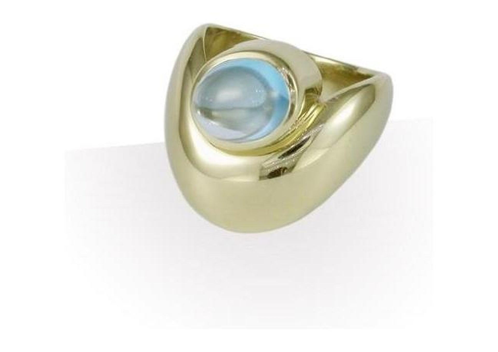 9ct Gold & Topaz Dress Ring   - Jens Hansen