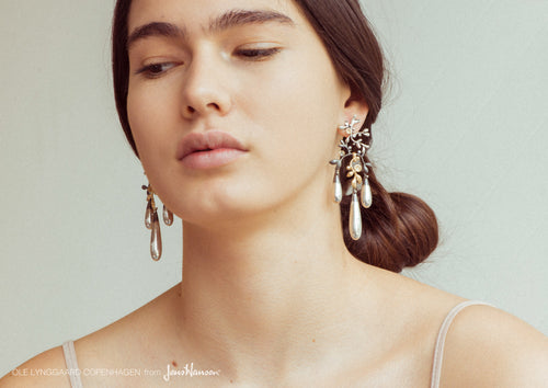 Gipsy Earrings in Silver and Gold