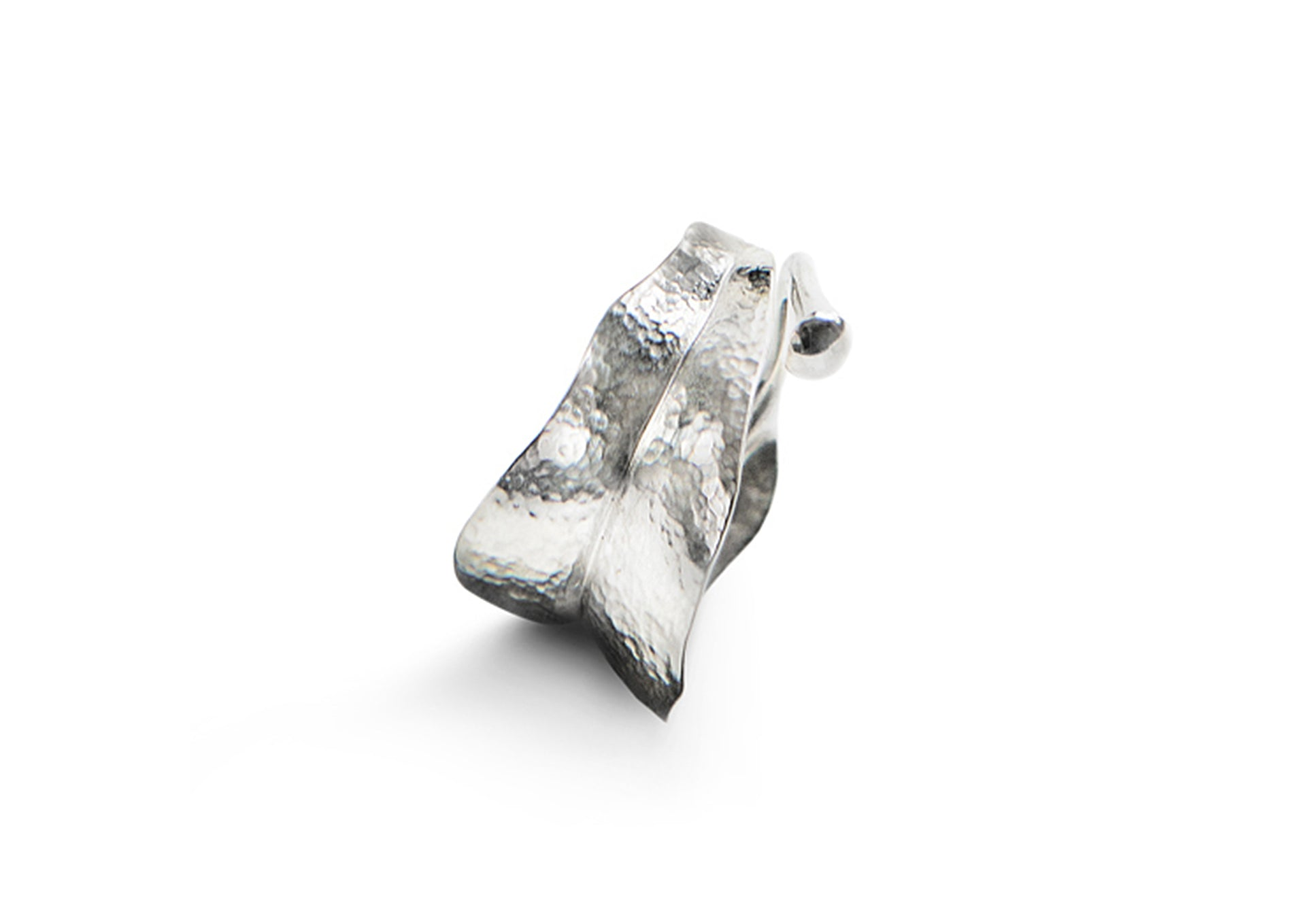Leaves Ring in Sterling Silver