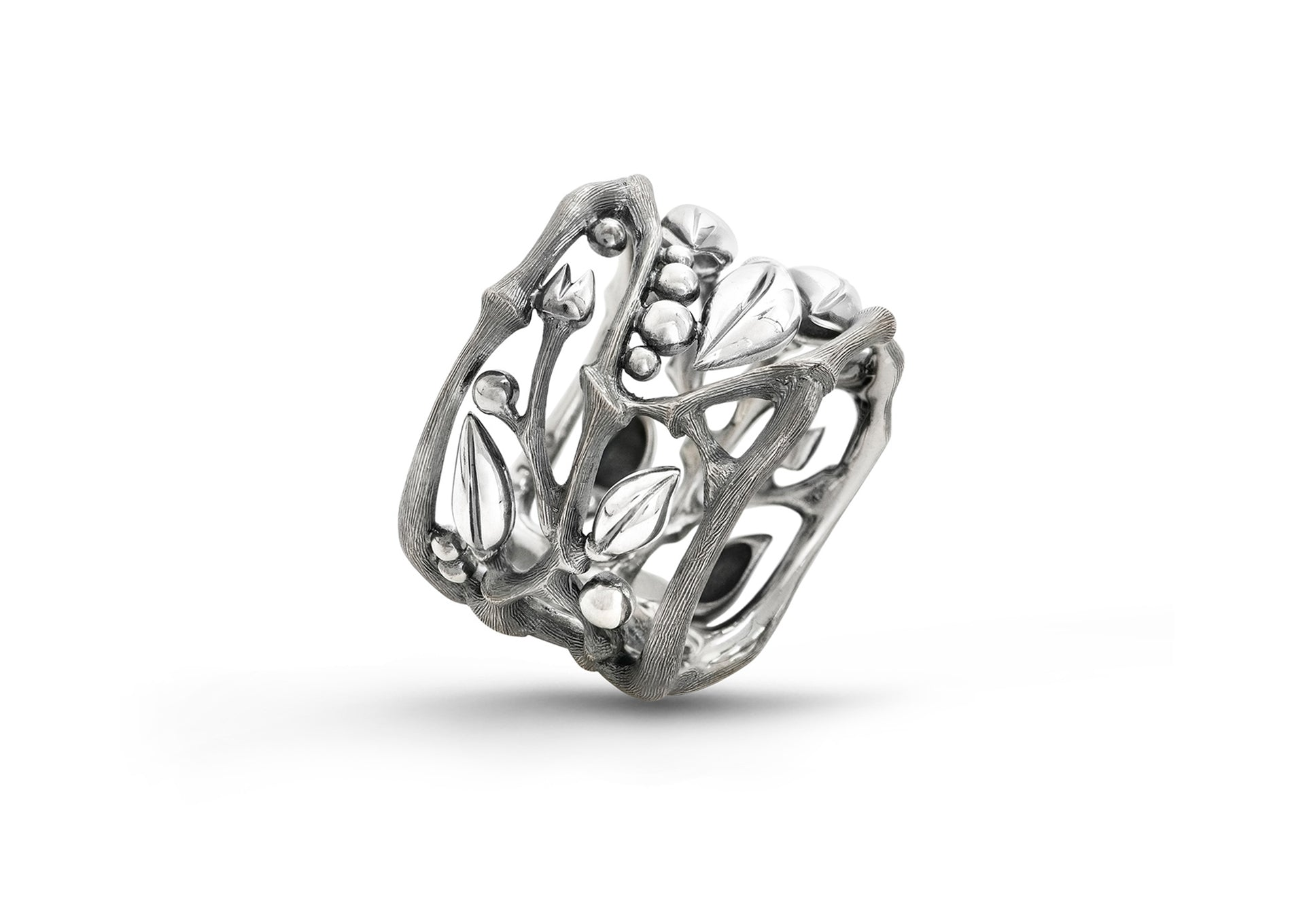 Silver Forest Ring in Sterling Silver