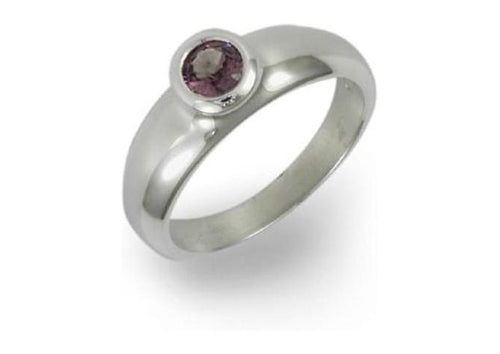 Silver ring with Pink Spinel   - Jens Hansen