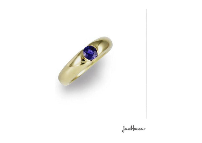 14ct Gold & Sapphire Dress Ring   - Jens Hansen