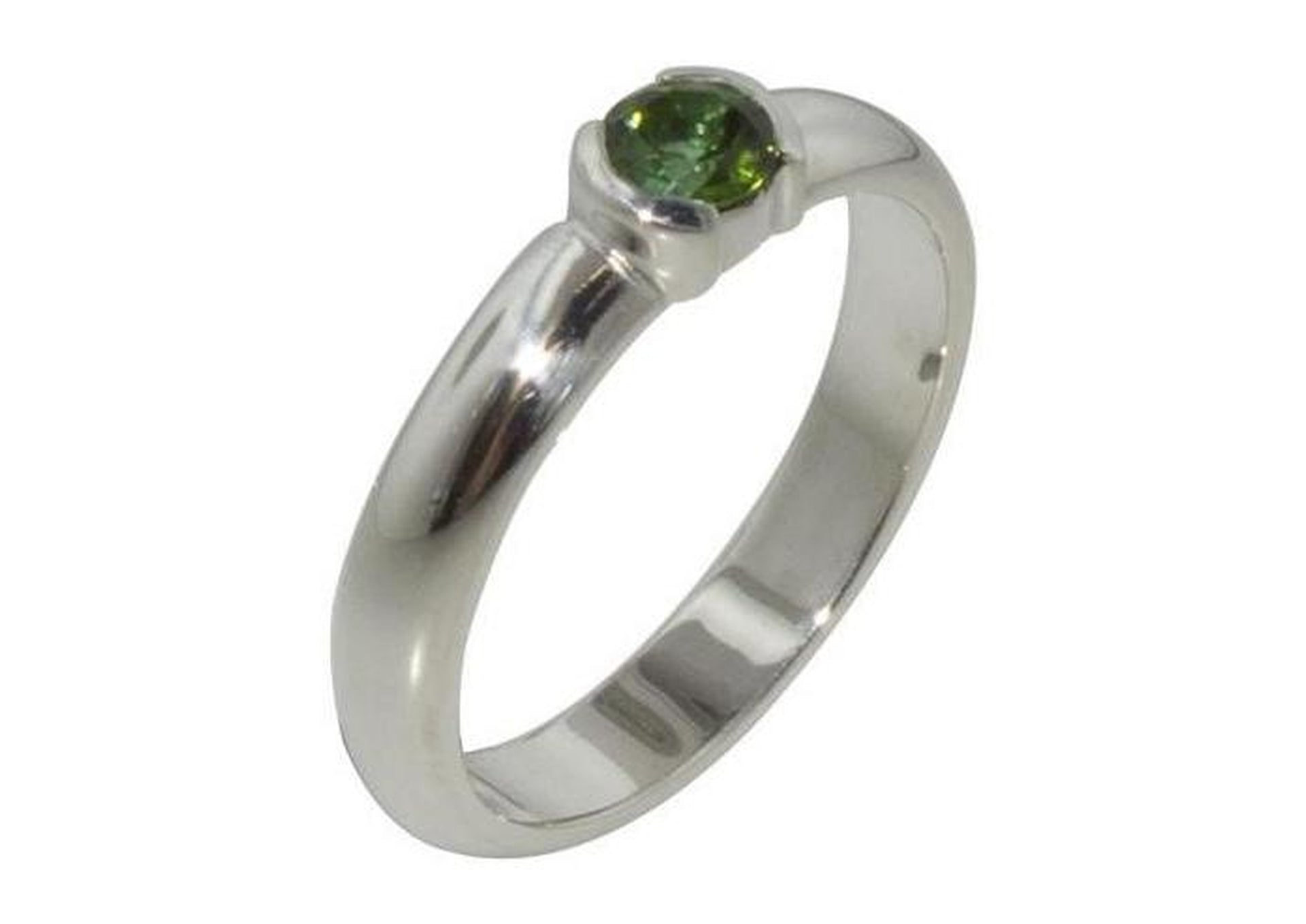 Silver and Tourmaline Ring   - Jens Hansen