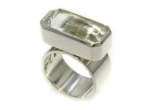 Hand crafted Quartz Ring   - Jens Hansen