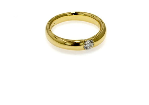 Classic Gold Diamond ring   - Jens Hansen