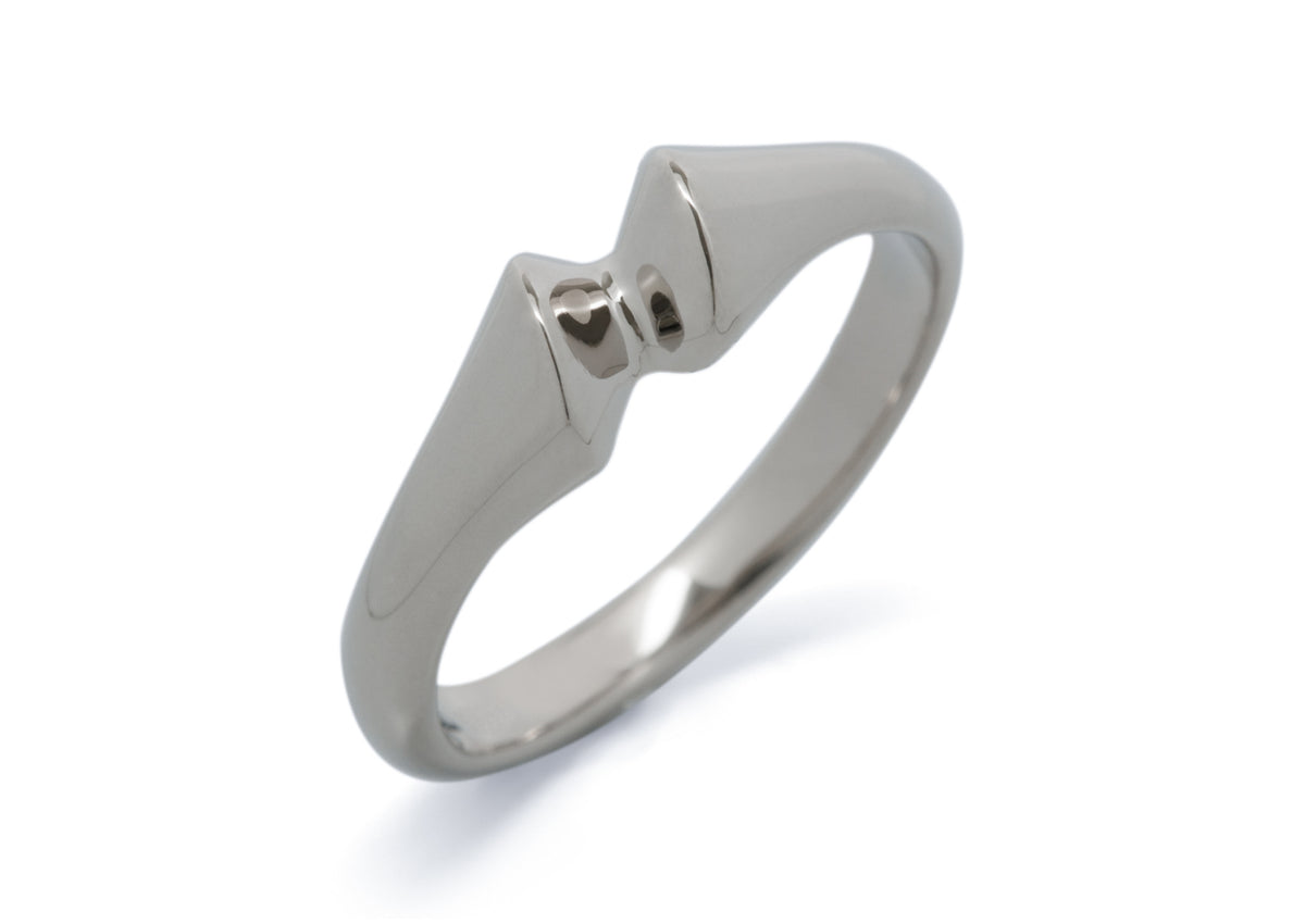 Geometric Dress Ring, Sterling Silver