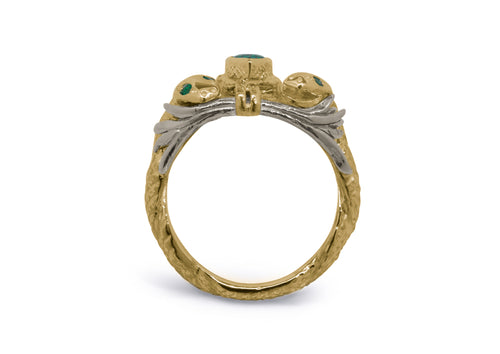 Our Ring for Viggo, Yellow & White Gold