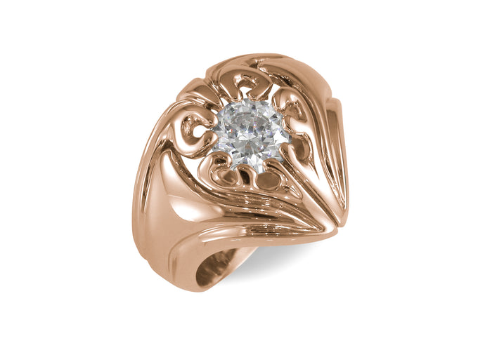 Our Ring for Cate, Red Gold