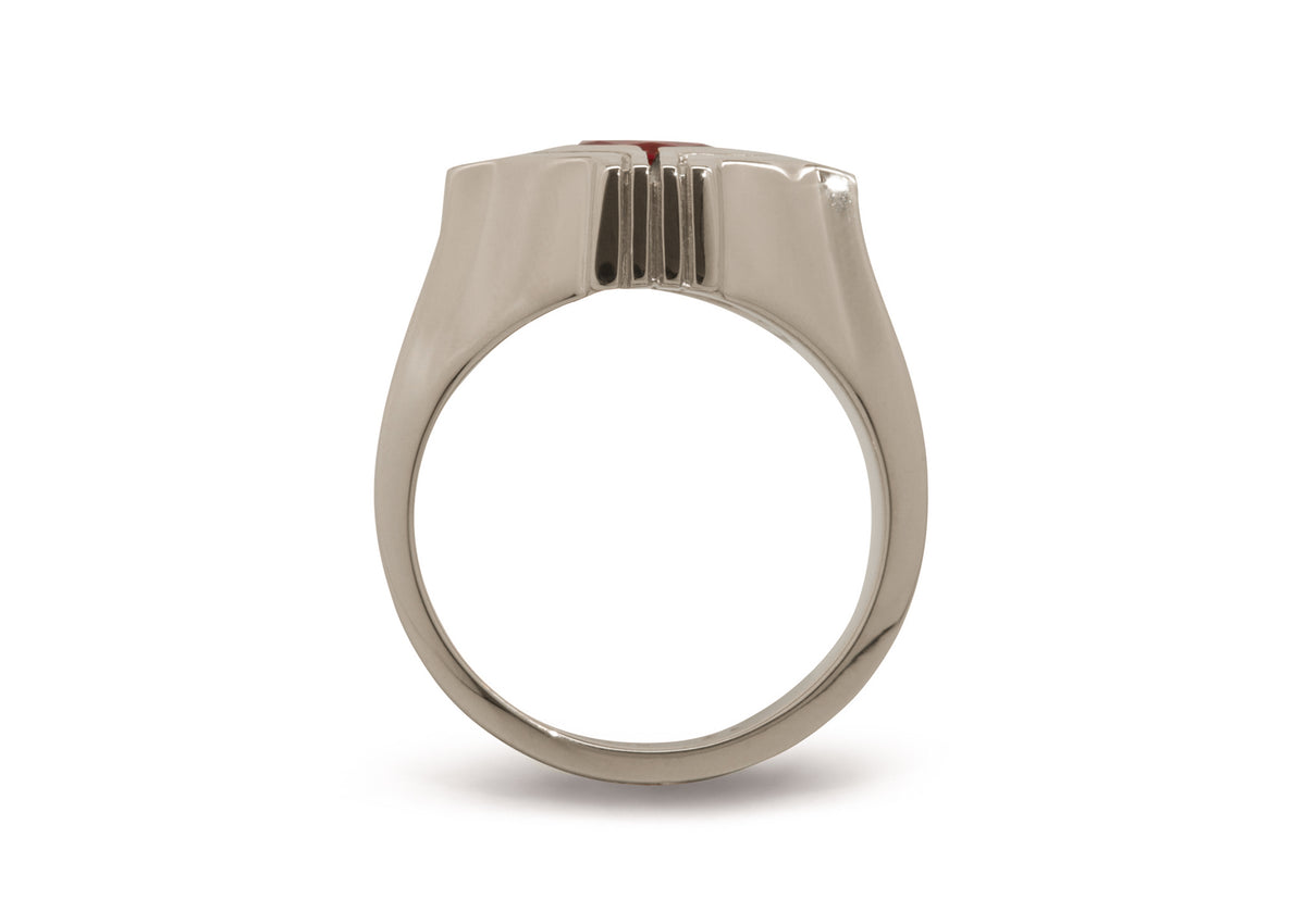 Our Ring for Sir Ian, White Gold & Platinum
