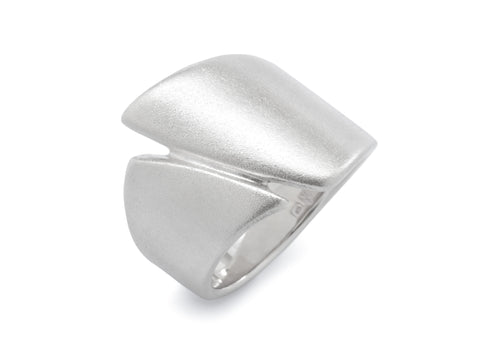 Signature Asymmetric Ring, Sterling Silver