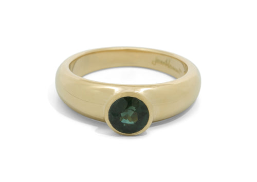 Resplendent Gemstone Ring, Yellow Gold
