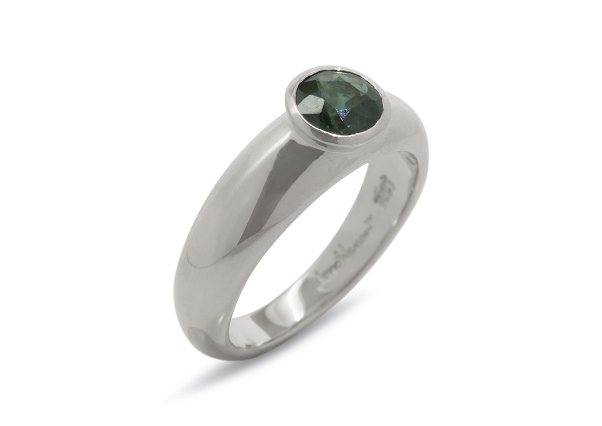 Resplendent Gemstone Ring, Sterling Silver