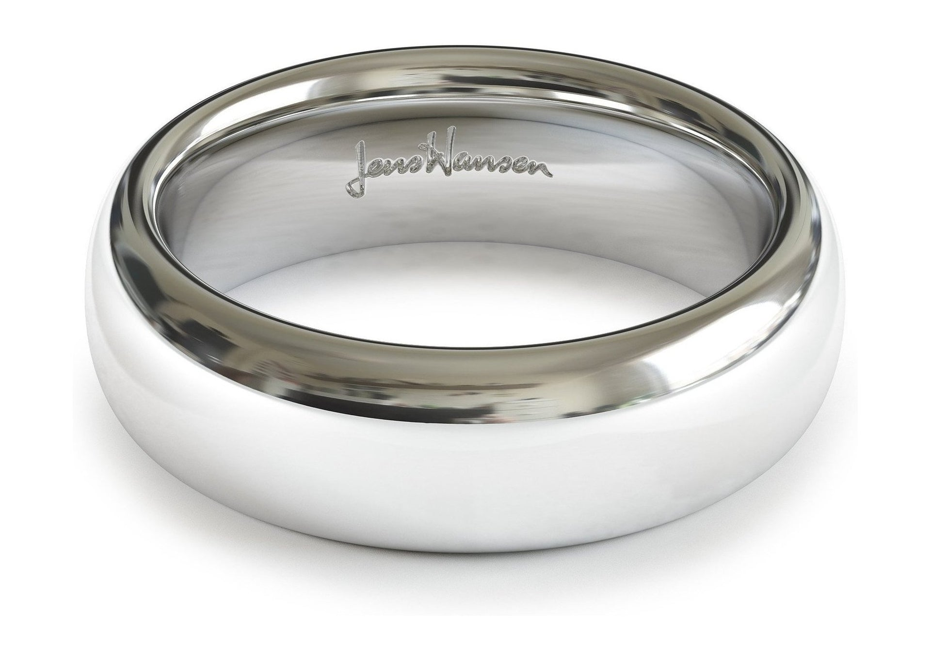 Create 18ct White Gold   - Jens Hansen