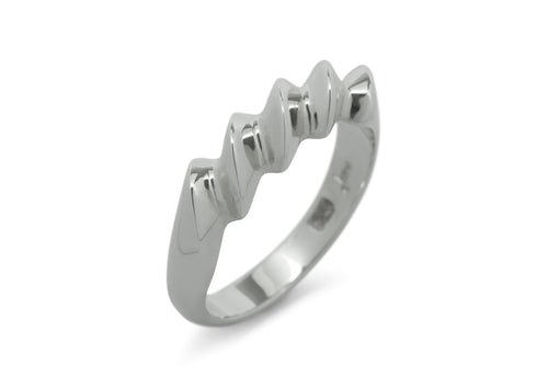 Twist Ring, Sterling Silver