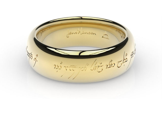 Elvish Love Ring Yellow Gold   - Jens Hansen