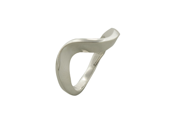 Free Form Ring, Sterling Silver